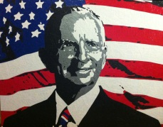Ross Perot | Commissioned Piece | Texas
