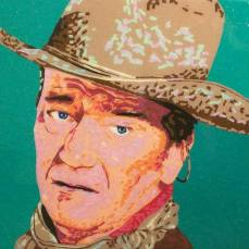 John Wayne | Commissioned Piece | Dallas, TX