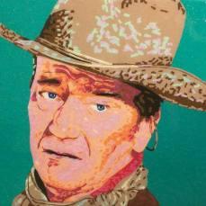 John Wayne | Commissioned Piece | Dallas, TX