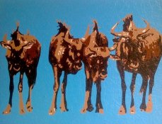 Wildebeest | Commissioned Piece for ShurTech Brands | Avon, Ohio